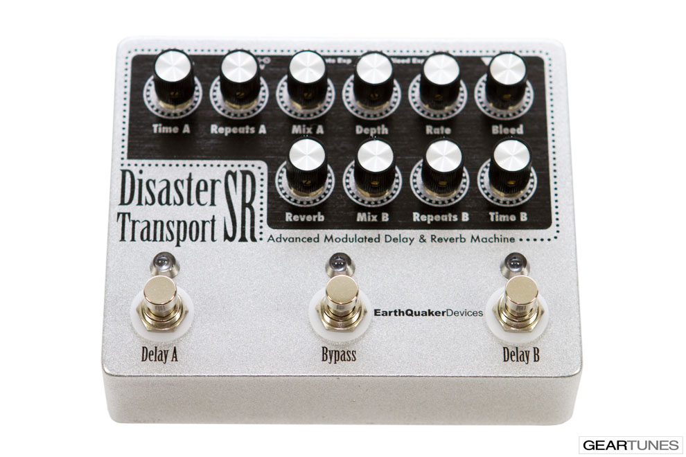 Reverb EarthQuaker Devices Disaster Transport SR