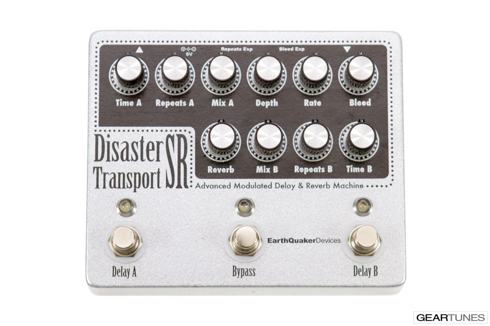 Reverb EarthQuaker Devices Disaster Transport SR 4