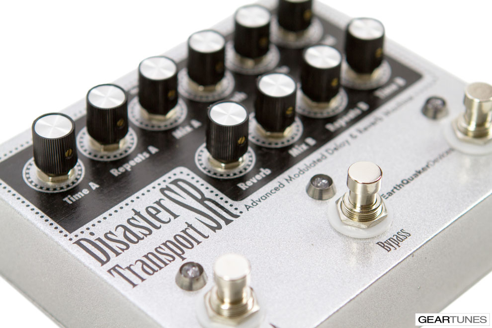 Reverb EarthQuaker Devices Disaster Transport SR 6