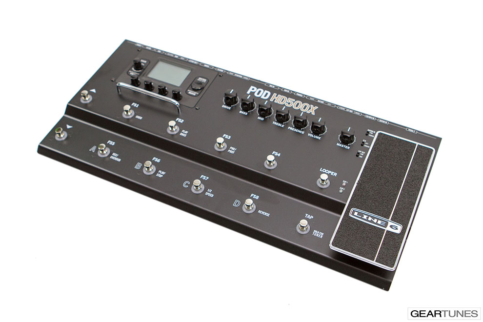 Effects Line 6 POD HD500X 2