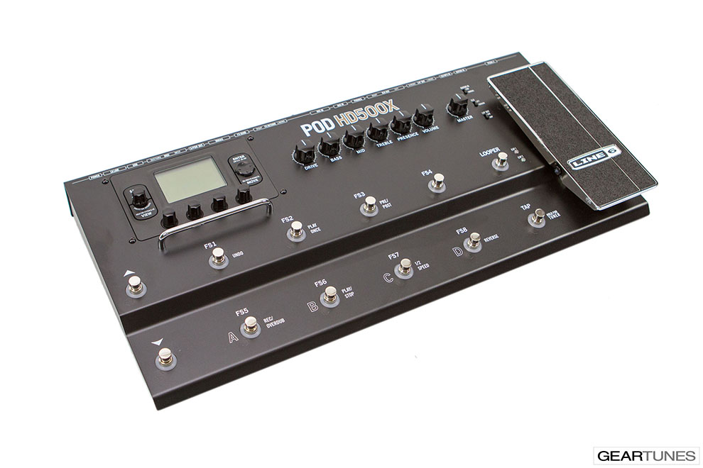 Effects Line 6 POD HD500X 3