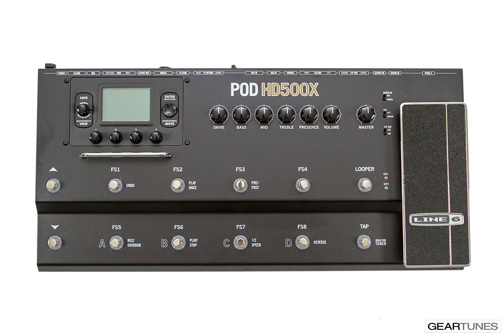 Effects Line 6 POD HD500X 4