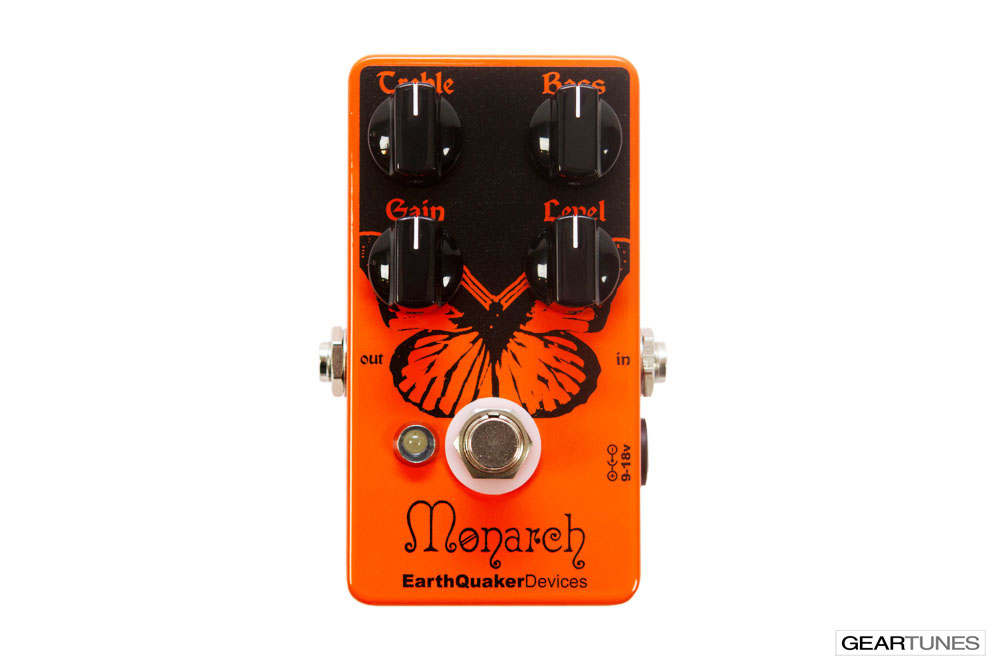 Overdrive EarthQuaker Devices Monarch 4