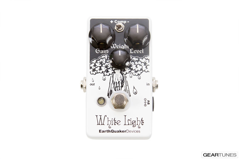 Overdrive EarthQuaker Devices White Light 4