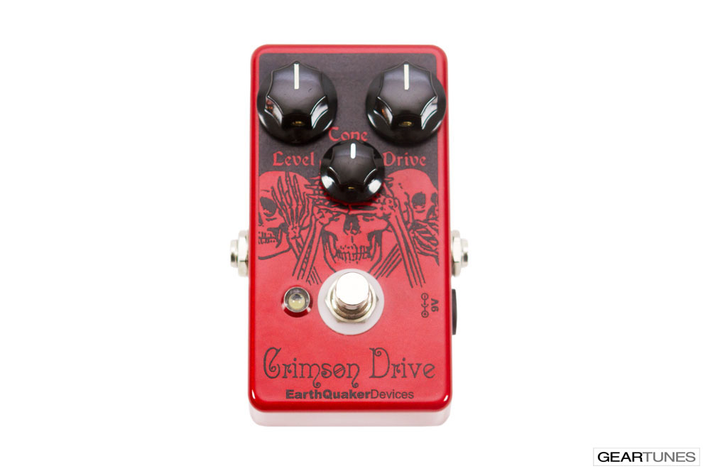 Overdrive EarthQuaker Devices Crimson Drive 4