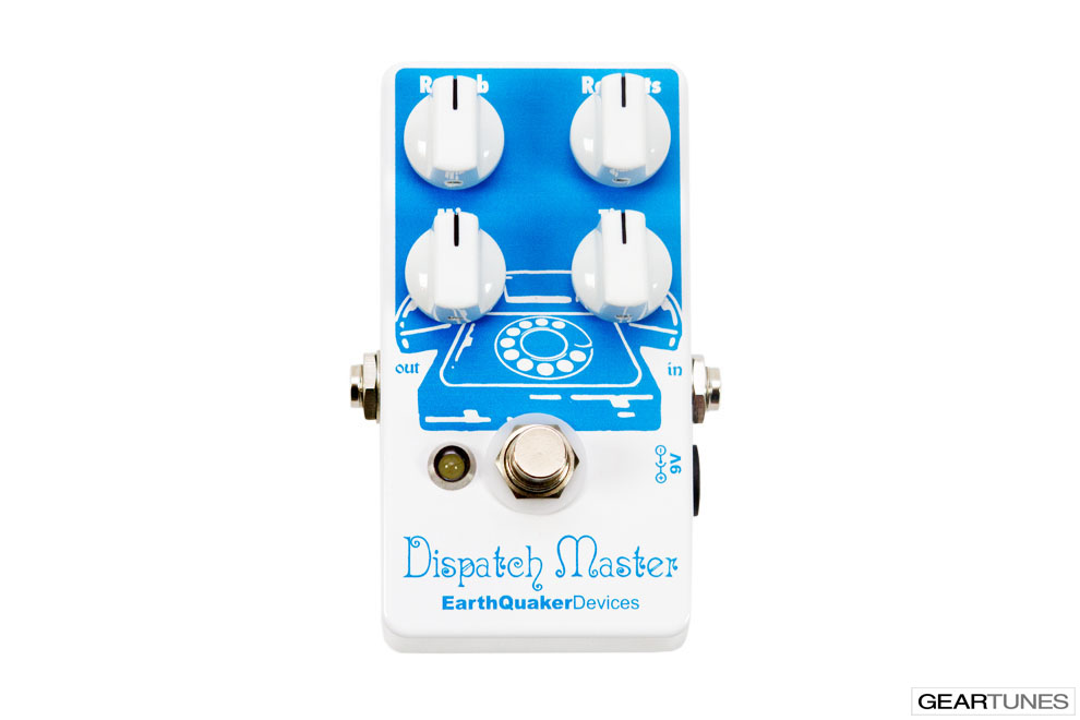 Delay EarthQuaker Devices Dispatch Master 4