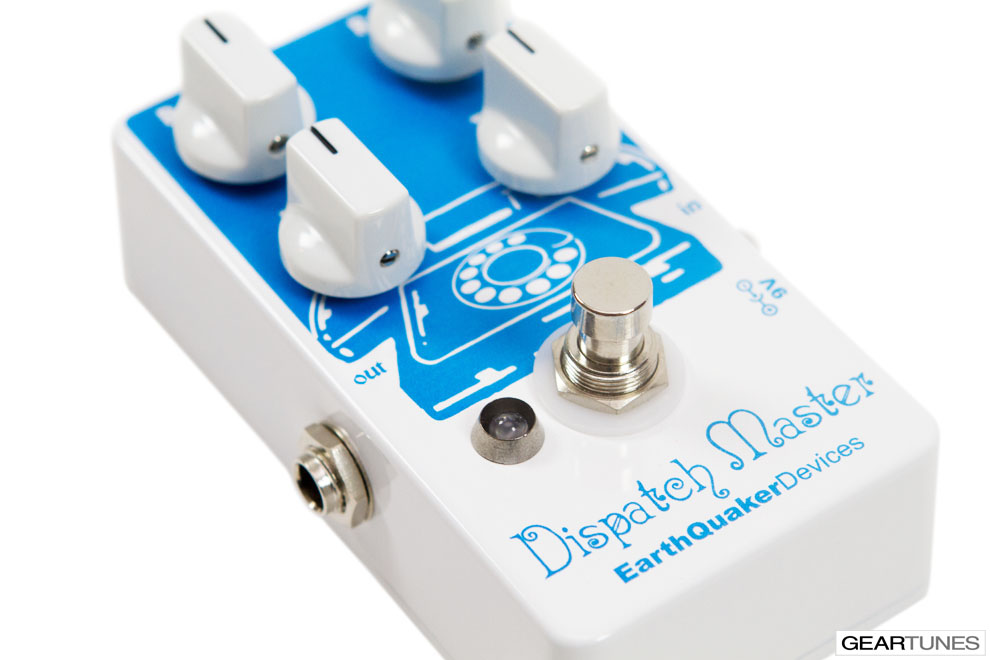 Delay EarthQuaker Devices Dispatch Master 6