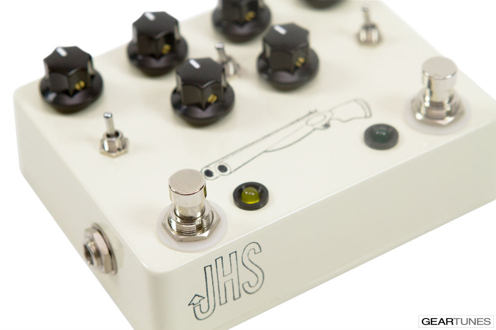 Overdrive JHS Double Barrel 5
