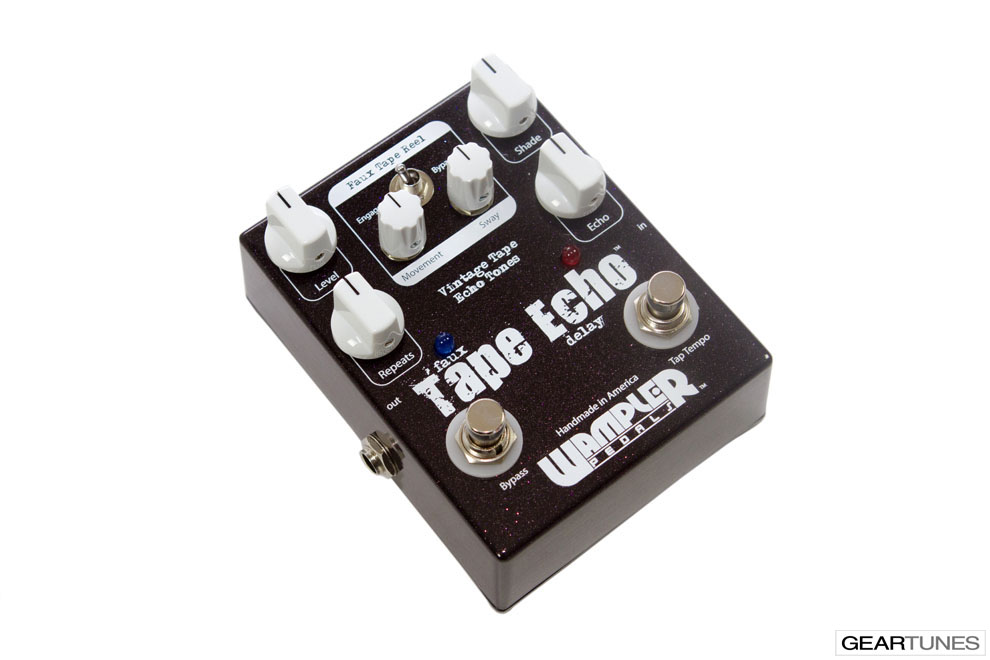 Delay Wampler Pedals Faux Tape Echo 3