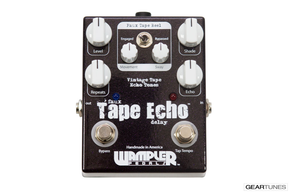 Delay Wampler Pedals Faux Tape Echo 4