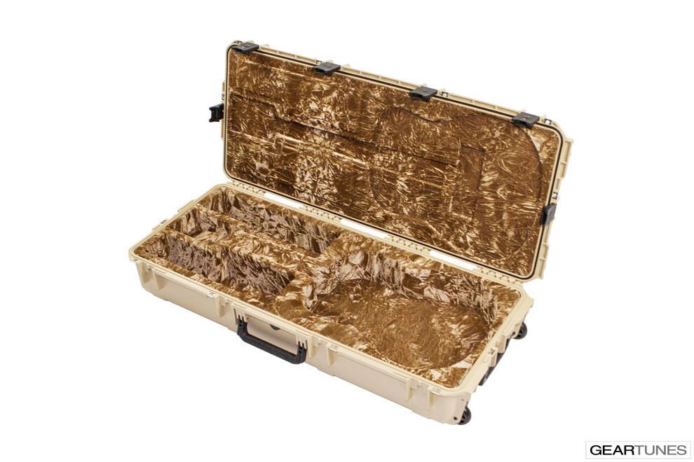 Guitar Case SKB 3I-4217-18T Injection Molded Acoustic Guitar Case, Tan 5