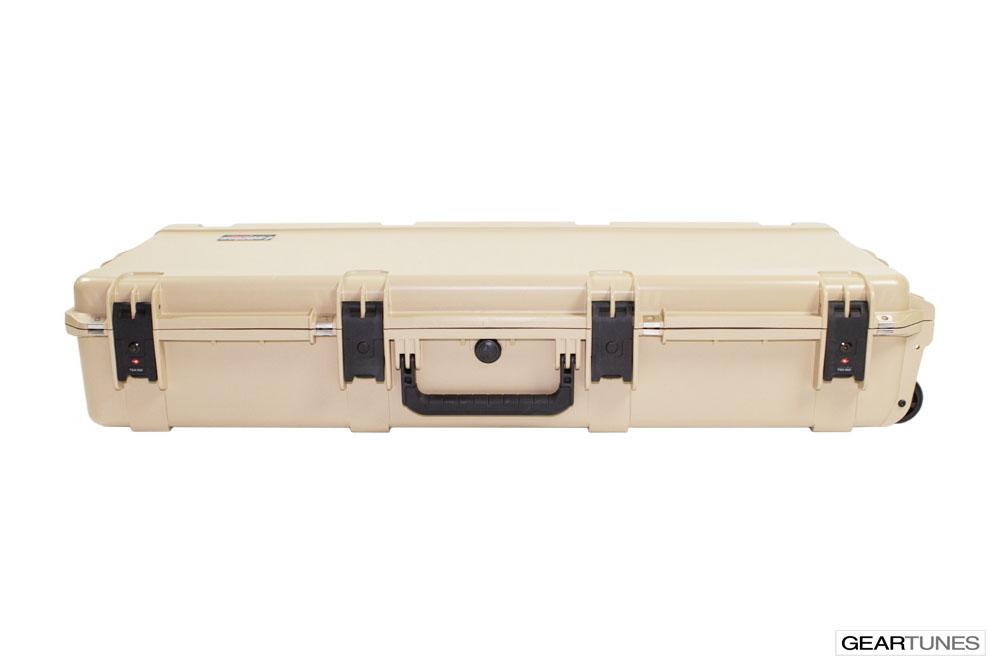 Guitar Case SKB 3I-4217-18T Injection Molded Acoustic Guitar Case, Tan 7