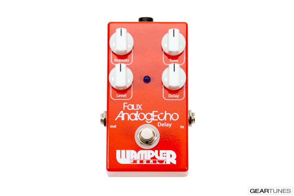 Delay Wampler Pedals Faux Analog Echo 4
