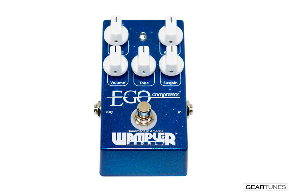 Compression and Sustain Wampler Pedals Ego Compressor
