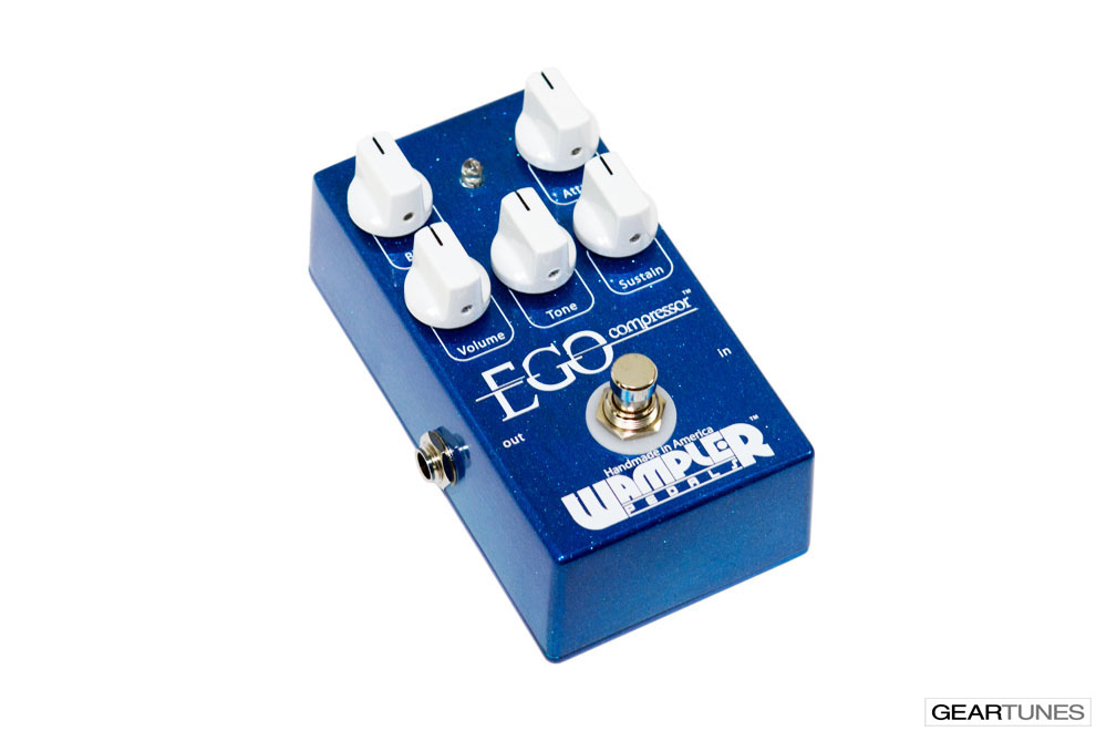 Compression and Sustain Wampler Pedals Ego Compressor 3