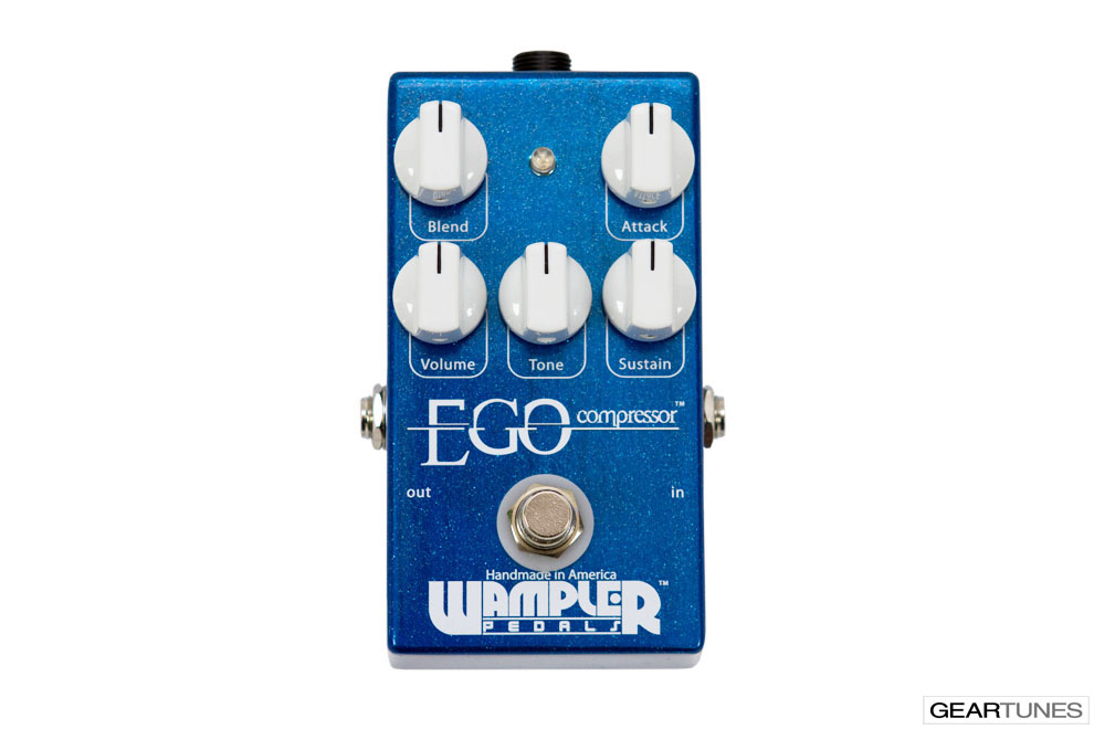 Compression and Sustain Wampler Pedals Ego Compressor 4