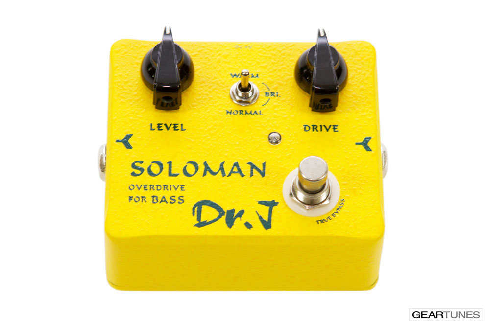 Overdrive Dr. J Pedals Soloman Overdrive