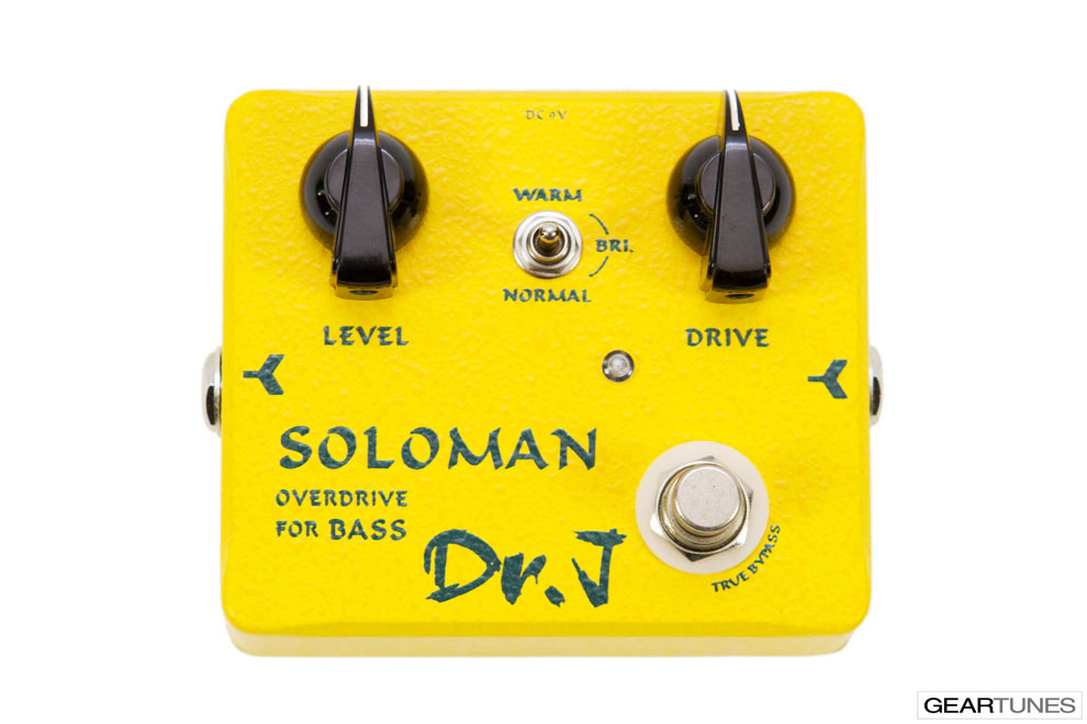 Overdrive Dr. J Pedals Soloman Overdrive 4