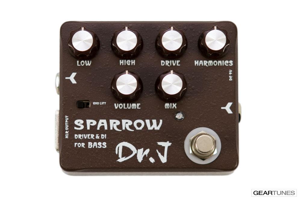 Recording Dr. J Pedals Sparrow Driver & DI 4