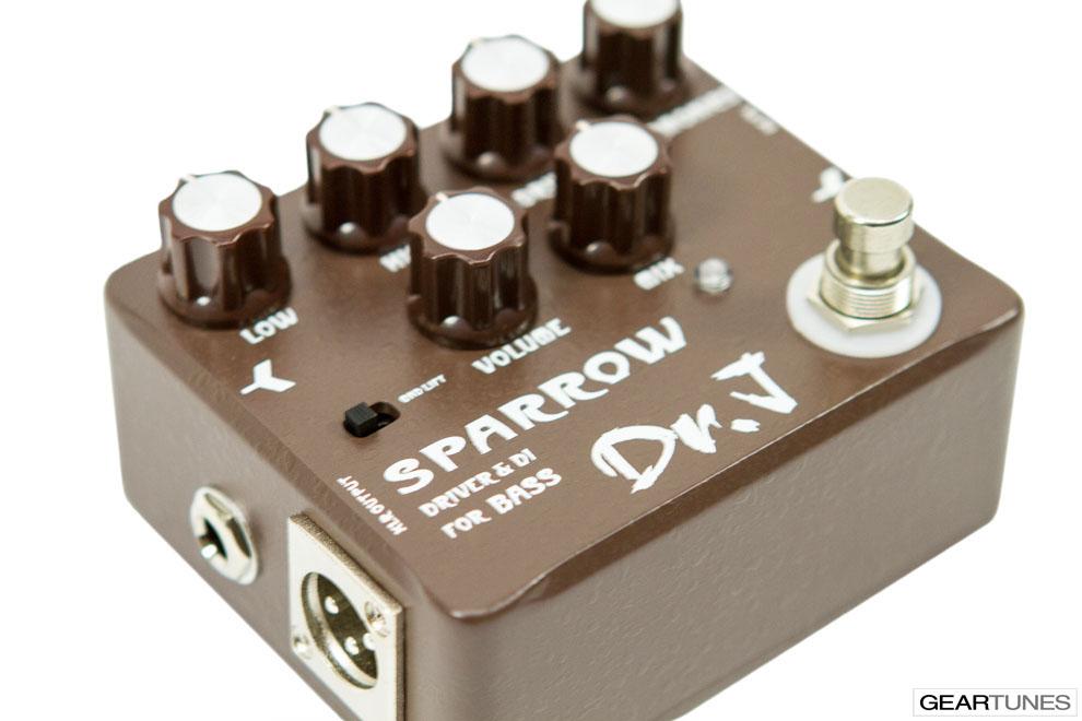 Recording Dr. J Pedals Sparrow Driver & DI 5
