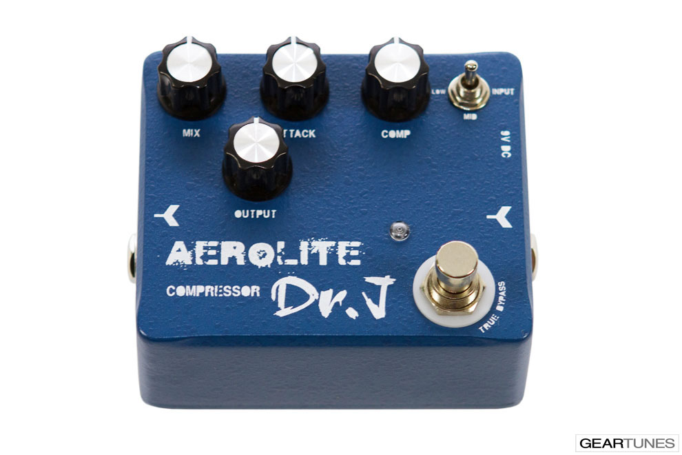 Compression and Sustain Dr. J Pedals Aerolite Compressor