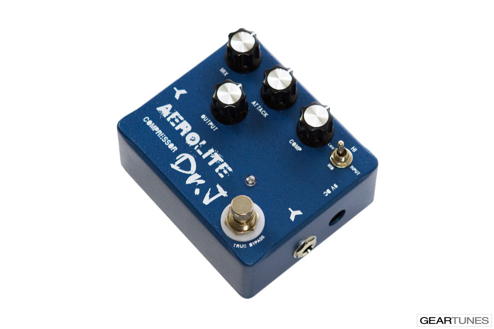 Compression and Sustain Dr. J Pedals Aerolite Compressor 2