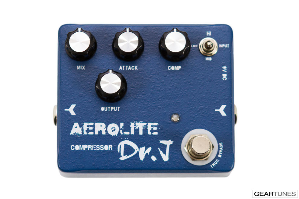 Compression and Sustain Dr. J Pedals Aerolite Compressor 4