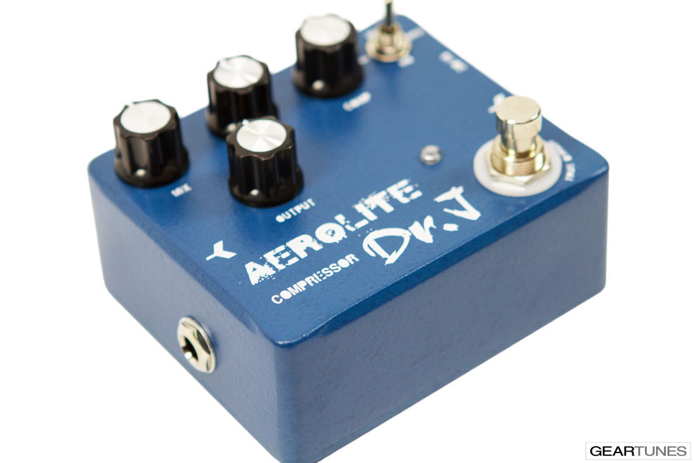 Compression and Sustain Dr. J Pedals Aerolite Compressor 5