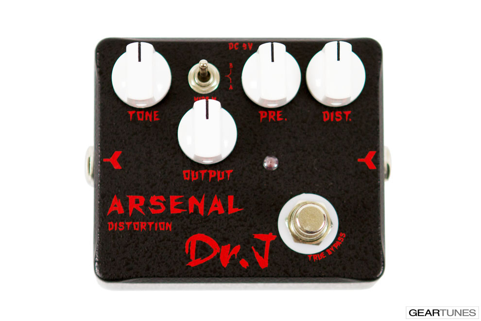 Distortion Dr. J Pedals Arsenal Distortion 4