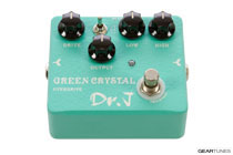 Dr. J Pedals Green Crystal Overdrive