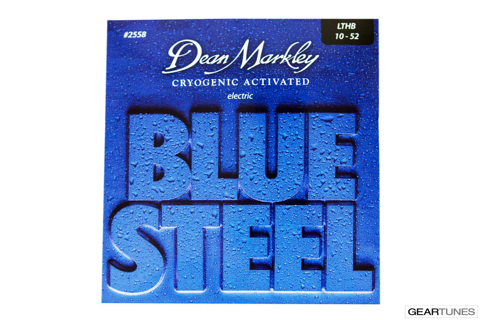 Accessories Dean Markley Blue Steel, Light Top Heavy Bottom 10-52 (8 pack)