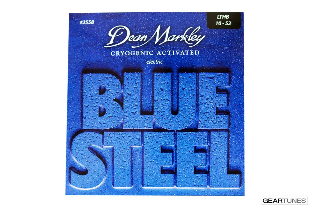 Strings Dean Markley Blue Steel, Light Top Heavy Bottom 10-52 (8 pack)