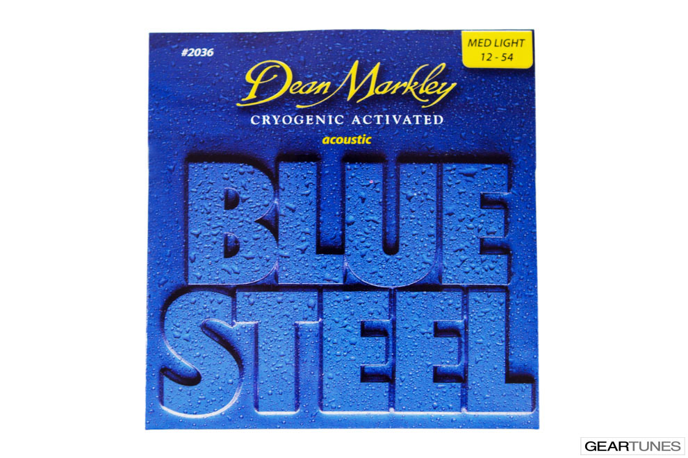 Strings Dean Markley Blue Steel, Medium LIght 12-54 (8 pack)