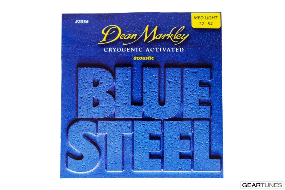 Mean Darkley Dean Markley Blue Steel, Medium LIght 12-54 (8 pack)