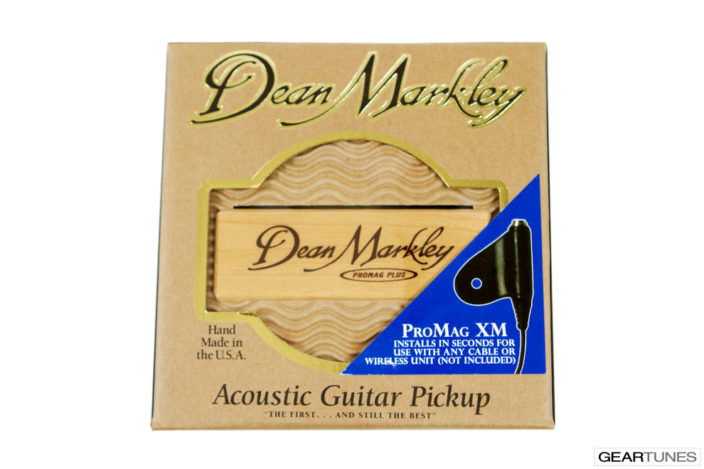 Accessories Dean Markley Promag Plus XM Acoustic Pickup (24' cable + clip) 3