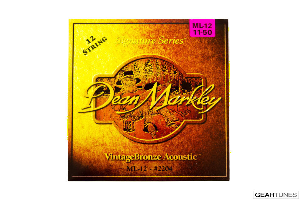 Mean Darkley Dean Markley Vintage Bronze, Medium Light 12 String 11-50 (10 pack)