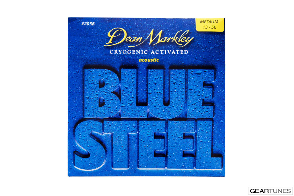 Strings Dean Markley Blue Steel, Medium 13-56 (8 pack)