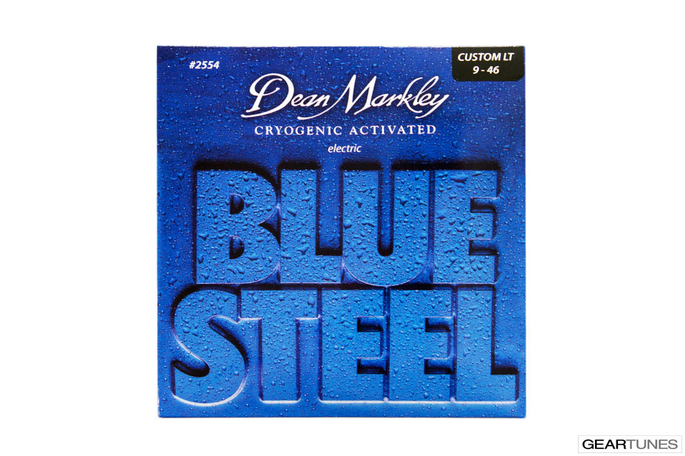 Strings Dean Markley Blue Steel, Custom Light 9-46 (8 pack)