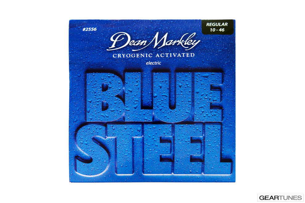 Mean Darkley Dean Markley Blue Steel, Regular 10-46 (8 pack)