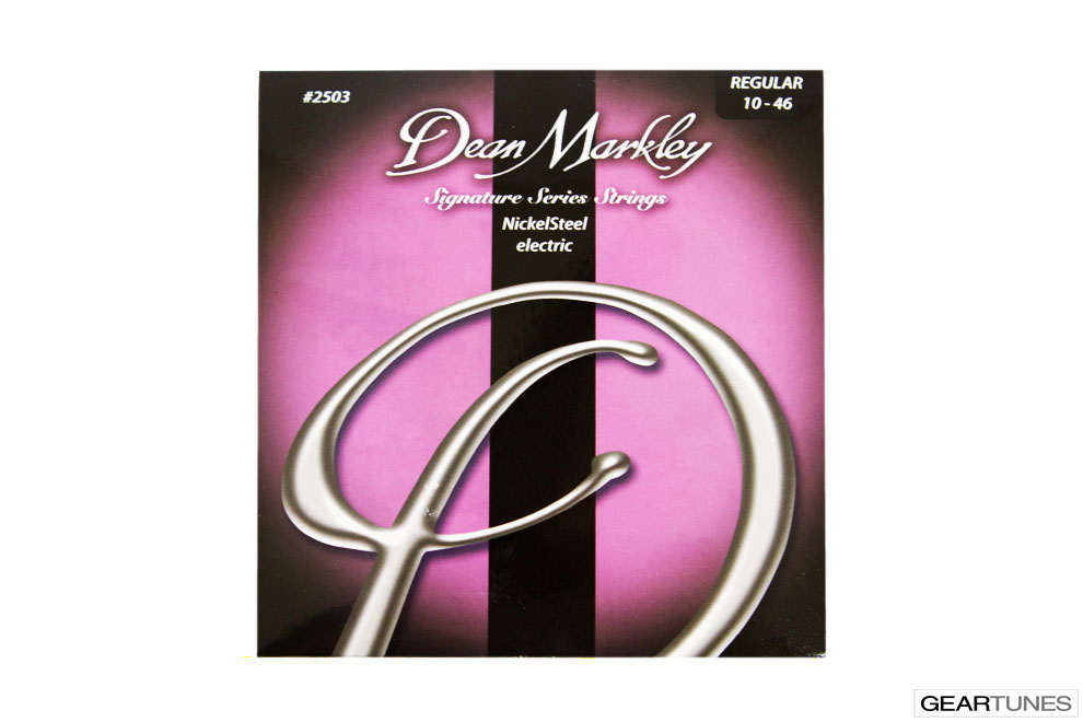 Mean Darkley Dean Markley Nickel Steel, Regular 10-46 (8 pack)