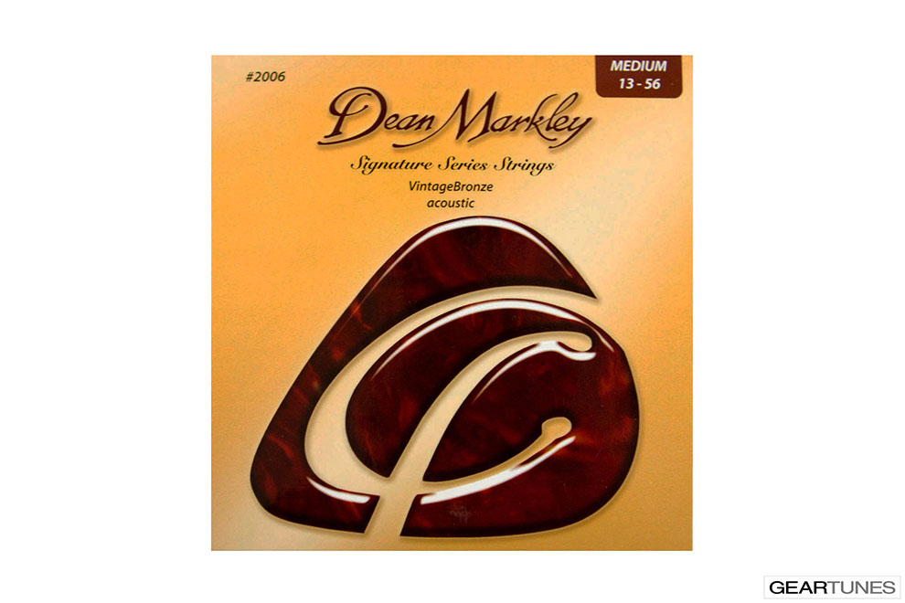 Mean Darkley Dean Markley Vintage Bronze, Medium 13-56 (8 pack)