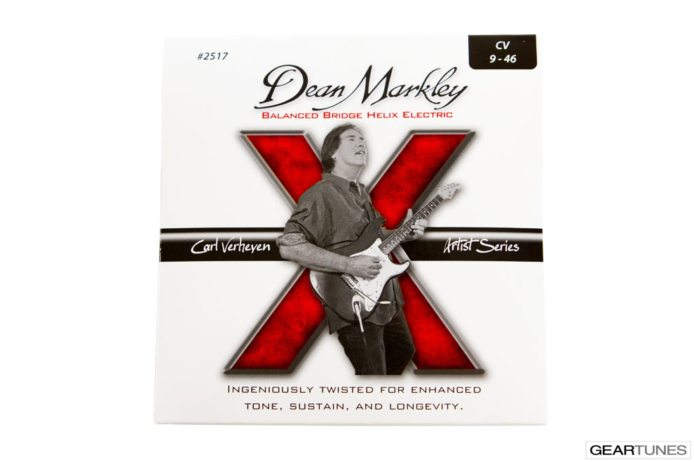 Electric Guitar Strings Dean Markley Helix HD, Carl Verheyen 9-46 (8 pack)