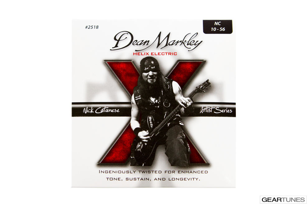 Strings Dean Markley Helix HD, Nick Catanese 10-56 (8 pack)