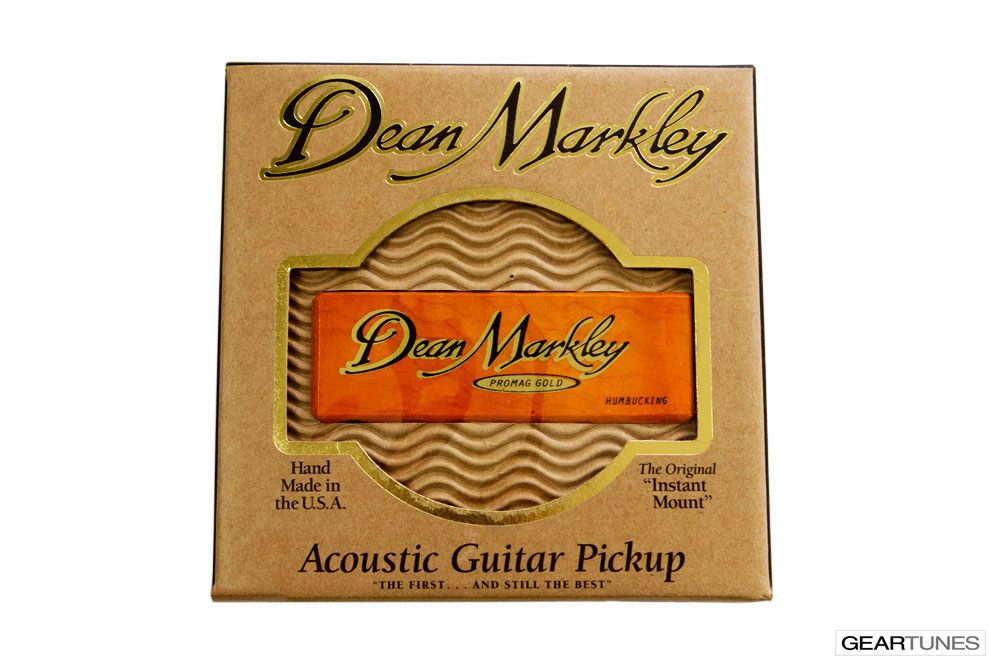 Acoustic Guitar Pickups Dean Markley 3018 ProMag Grand Gold Humbucker Pickup 3