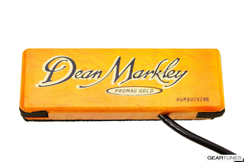 Acoustic Guitar Pickups Dean Markley 3018 ProMag Grand Gold Humbucker Pickup 2