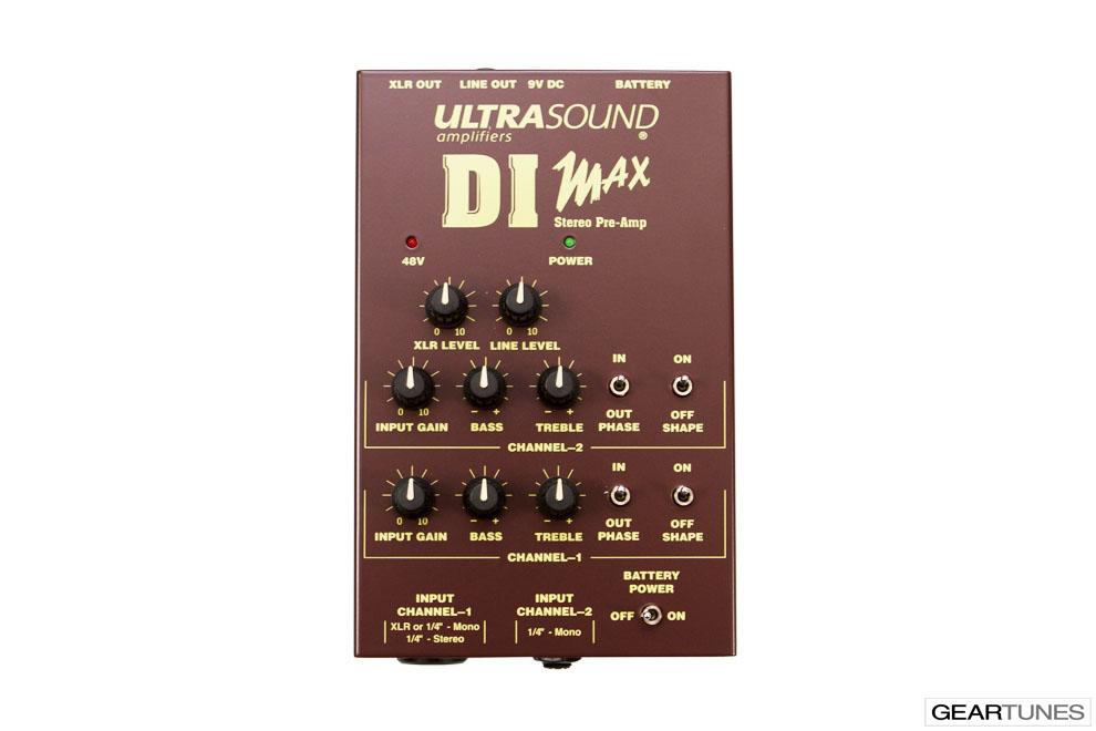 Amps Dean Markley Ultrasound DI Max 4