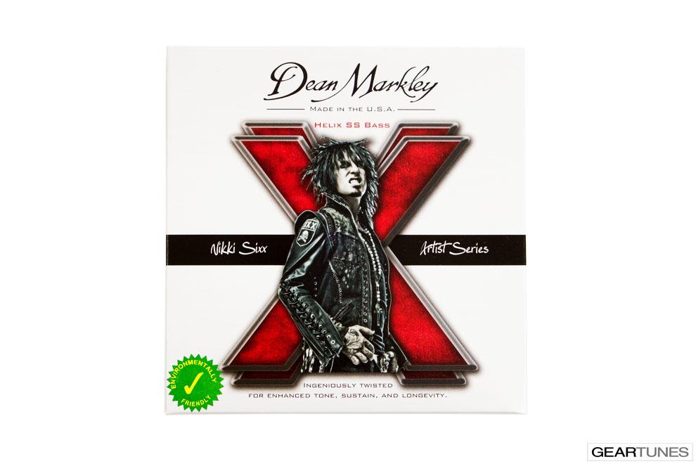 Mean Darkley Dean Markley Nikki Six Helix SS Bass Strings (3 pack)