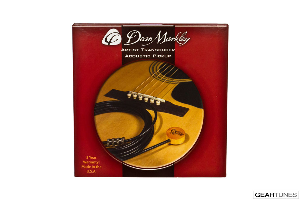 Acoustic Guitar Pickups Dean Markley Artist Transducer