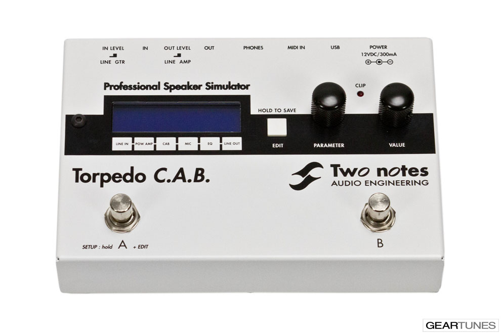 Amps Two Notes Torpedo C.A.B.