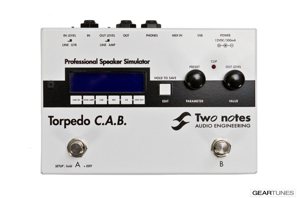 Effects Two Notes Torpedo C.A.B. 4